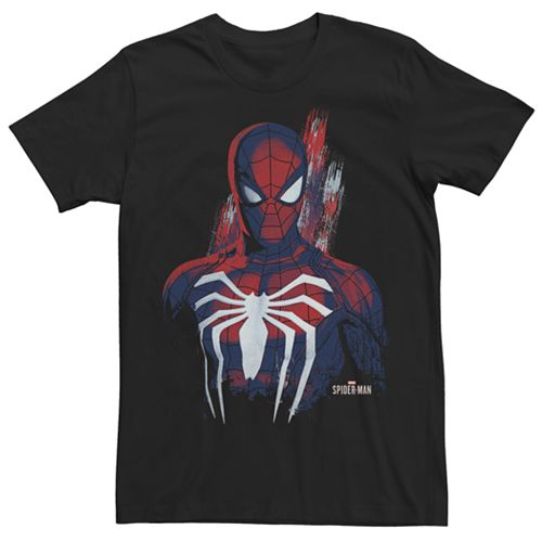 Men's Marvel Spider-Man Spidey Paint Graphic Tee