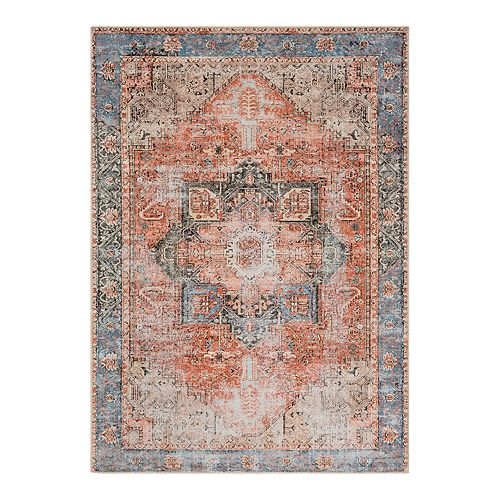 Decor 140 Almira Distressed Medallion Rug
