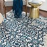 Decor 140 Marseille Distressed Trellis Rug