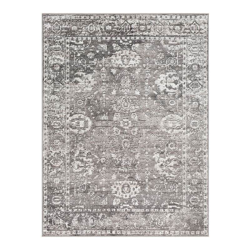 Decor 140 Marseille Updated Traditional Rug, Grey, 6.5X9 Ft