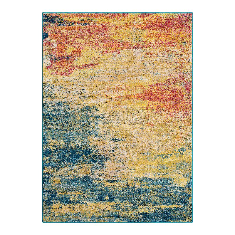 Decor 140 Vallauris Abstract Rug, 2X3 Ft