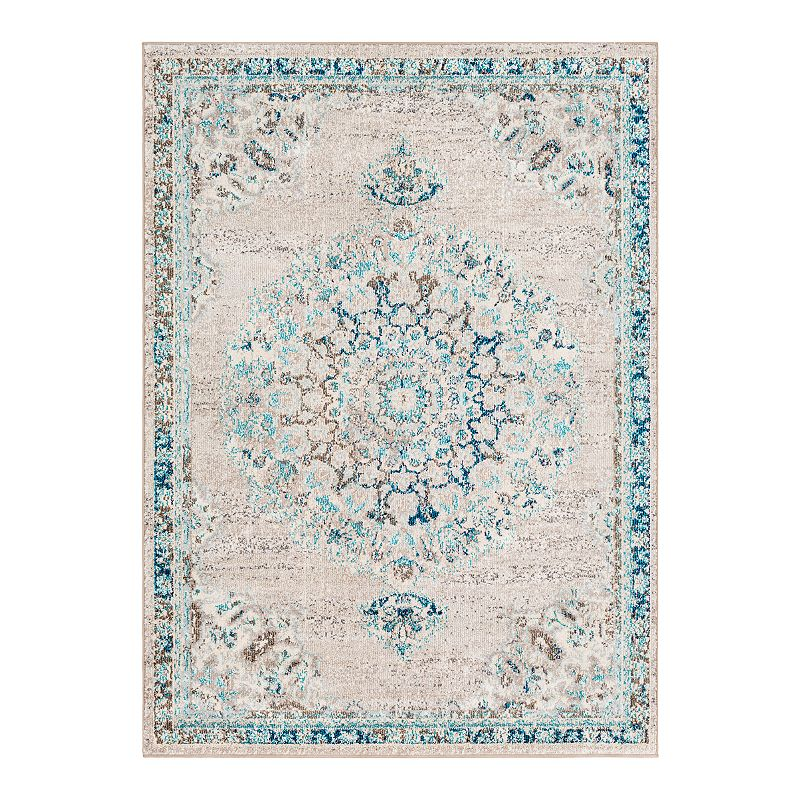Decor 140 Vallauris Updated Traditional Rug, Grey, 2X3 Ft