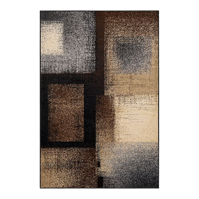 Decor 140 Primordial Modern Rug, Grey, 2X3 Ft
