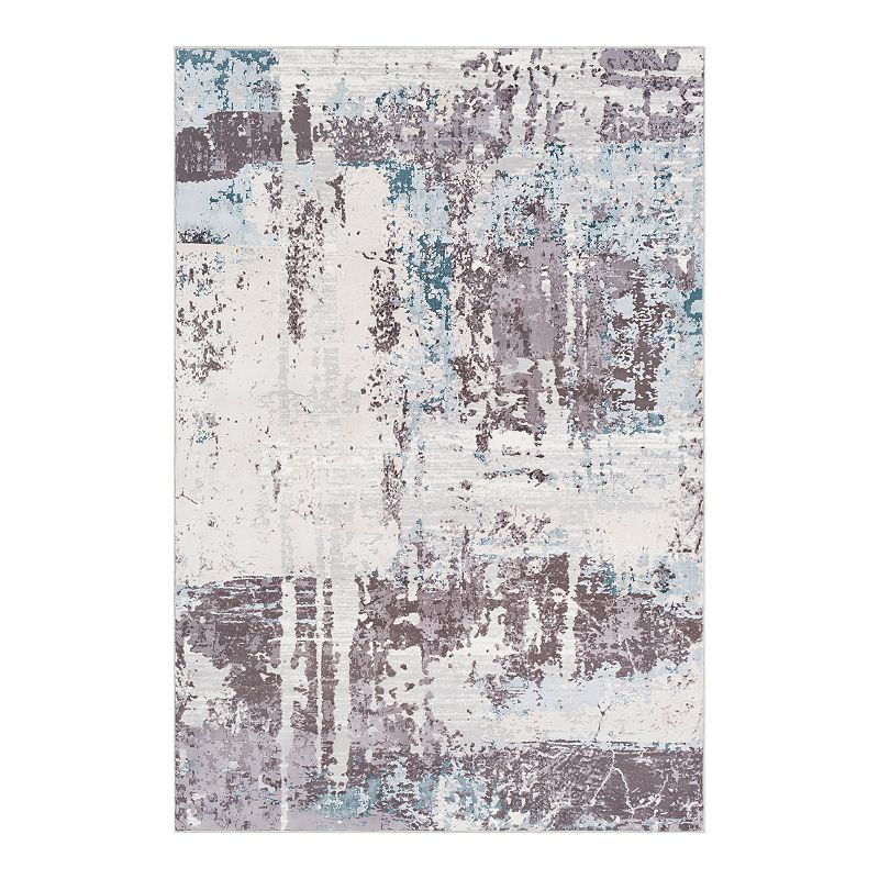 Decor 140 Soothsay Abstract Rug, Grey, 5X7.5 Ft