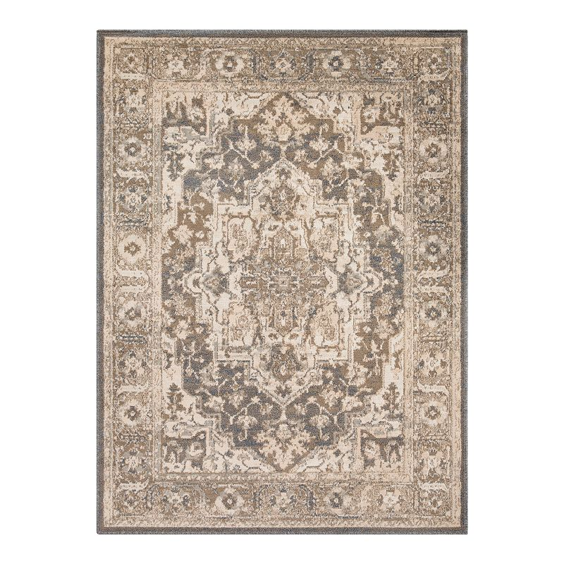 Decor 140 Pegasus Traditional Rug, Brown, 8X10 Ft