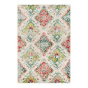 Decor 140 Primordial Distressed Trellis Rug