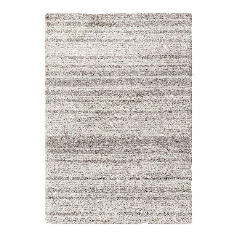Decor 140 Tempest Striped Rug, Grey, 8X11 Ft