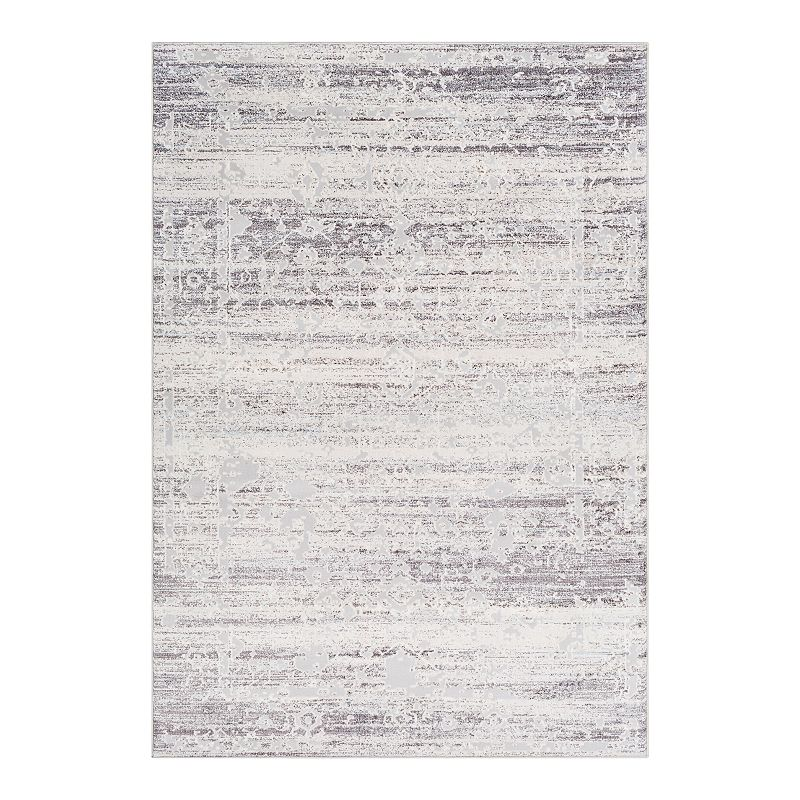 Decor 140 Soothsay Distressed Traditional Rug, Grey, 8X10 Ft