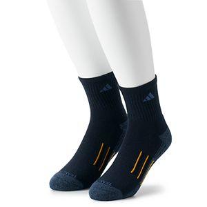 Men's adidas 2-pack climalite X II Mid-Crew Socks
