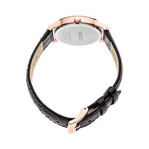 Seiko Women's Essential Leather Watch - SXDG98
