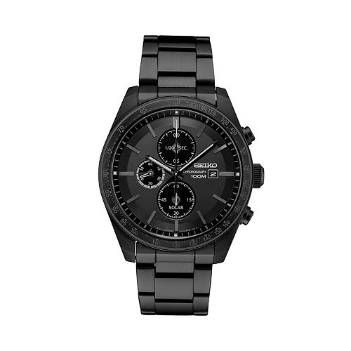 Seiko Men's Solar Chronograph Watch   Ssc721 by Seiko