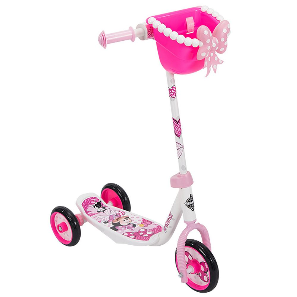 Huffy 6-inch Disney Minnie Mouse Scooter with Bin