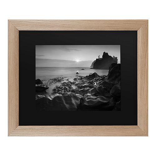 Trademark Fine Art Sunset At Ruby Beach Framed Wall Art