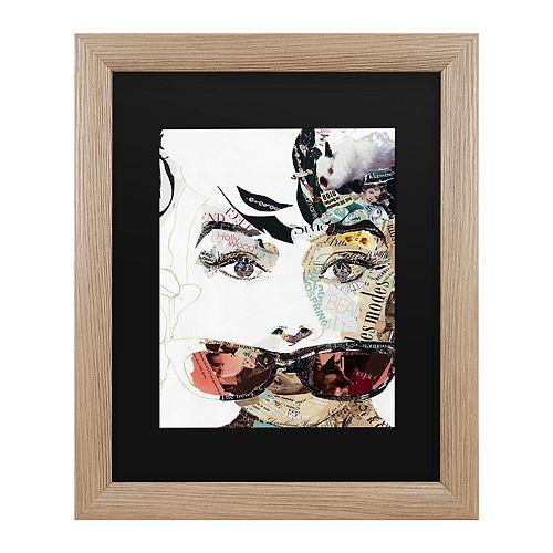 Trademark Fine Art Audrey Framed Art