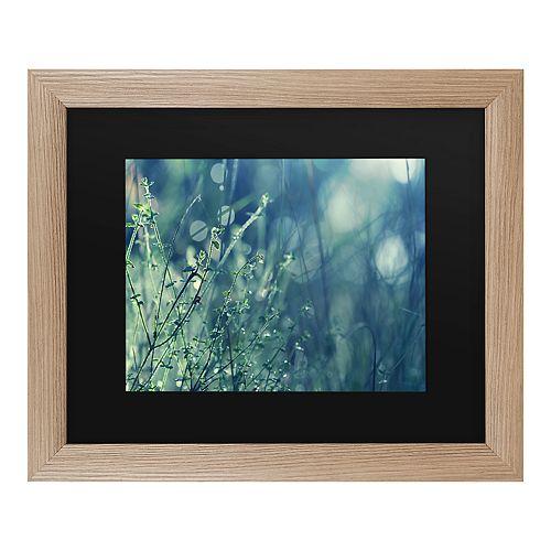Trademark Fine Art Blues In The Morning Framed Art
