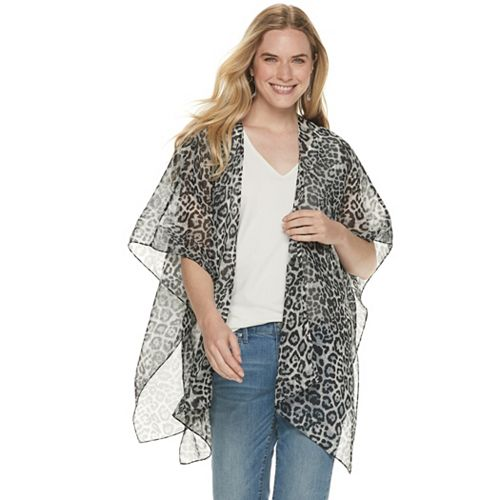 Women's Leopard Printed Cover Up