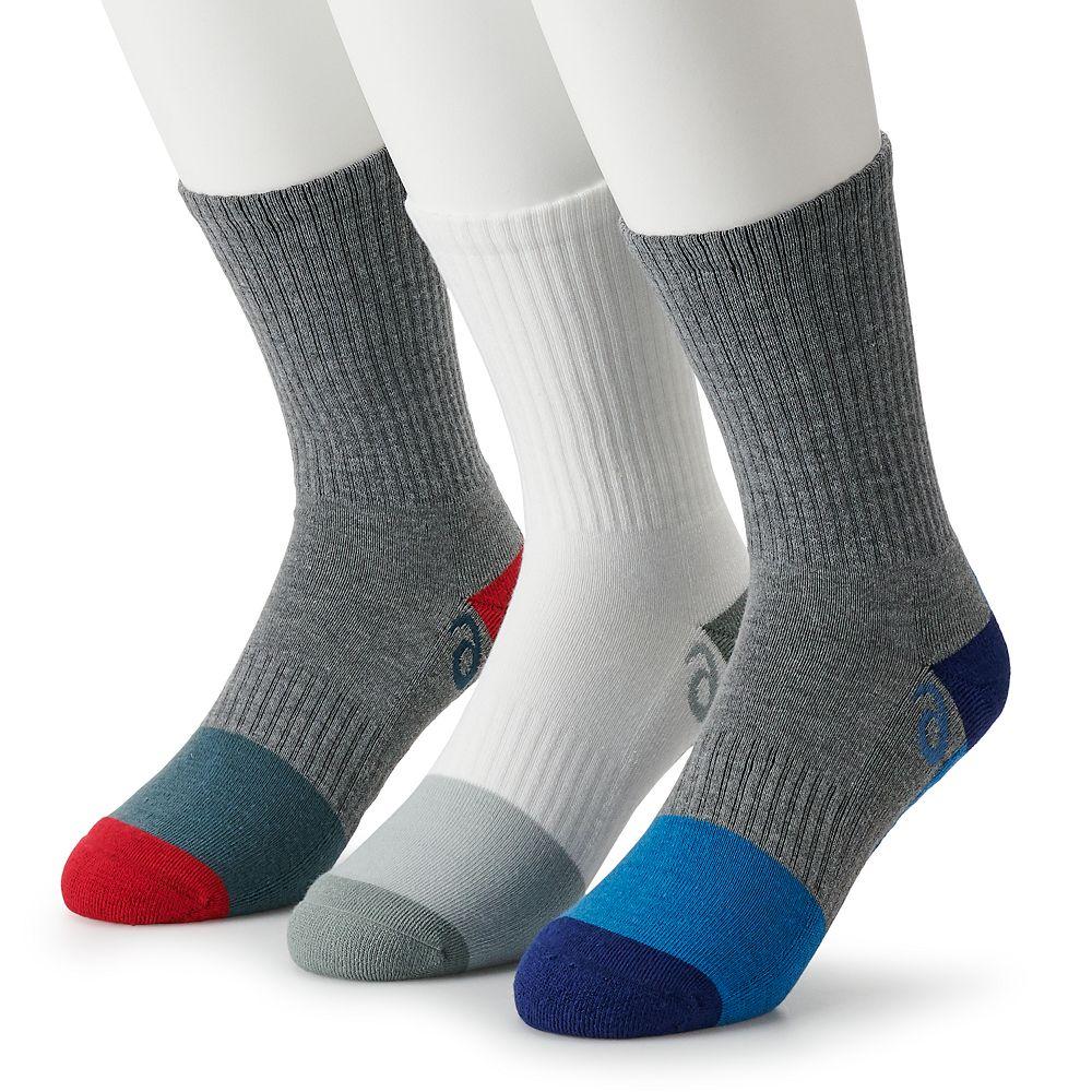 Men's ASICS Training Crew 3-pack Socks