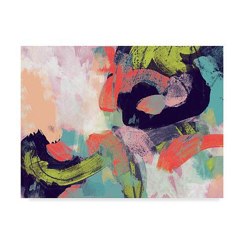 Trademark Fine Art Vibrant Spring II Canvas Wall Art
