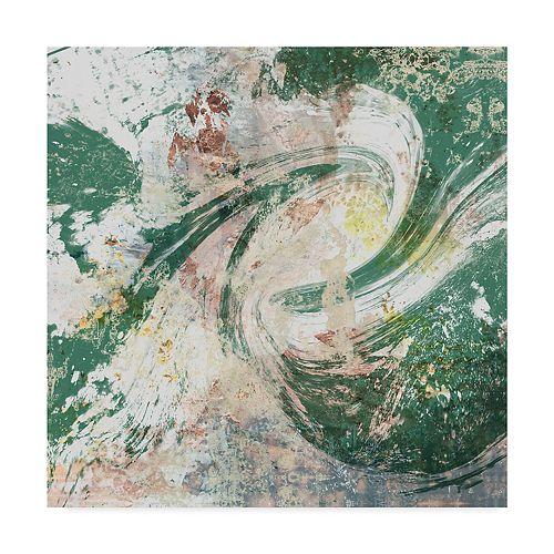 Trademark Fine Art Emerald Aerial Wall Art