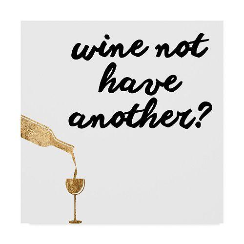 Trademark Fine Art Wine Sentiment Vii Wall Art