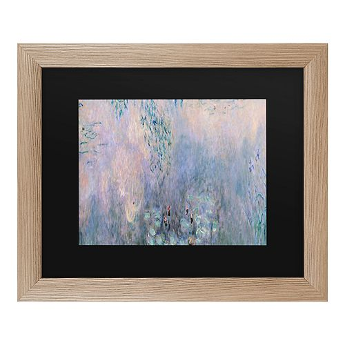 Trademark Fine Art Water Lilies 1914-22 Framed Wall Art