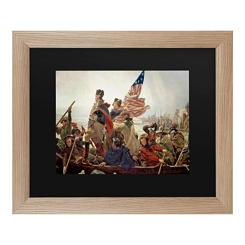 Trademark Fine Art Washington Crossing Delaware River Wall Art