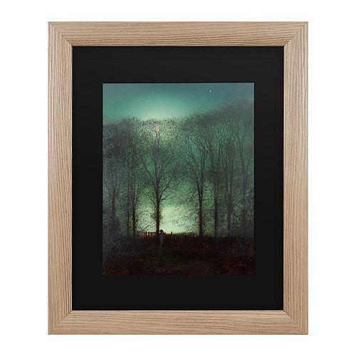 Trademark Fine Art Figure In The Moonlight Wall Art