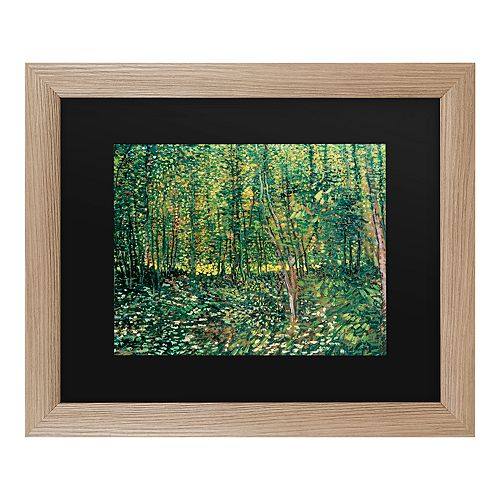 Trademark Fine Art Trees And Undergrowth 1887 Wall Art