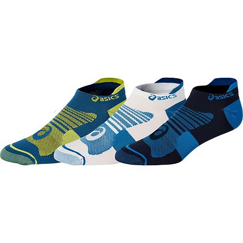 Men's ASICS 3-pack Quick Lyte Plus Low-Cut Socks