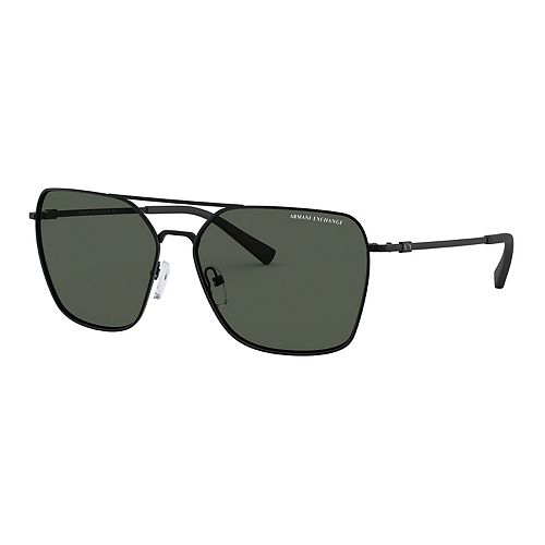 Men's Armani Exchange Forever Young AX2029 60mm Metal Square Sunglasses