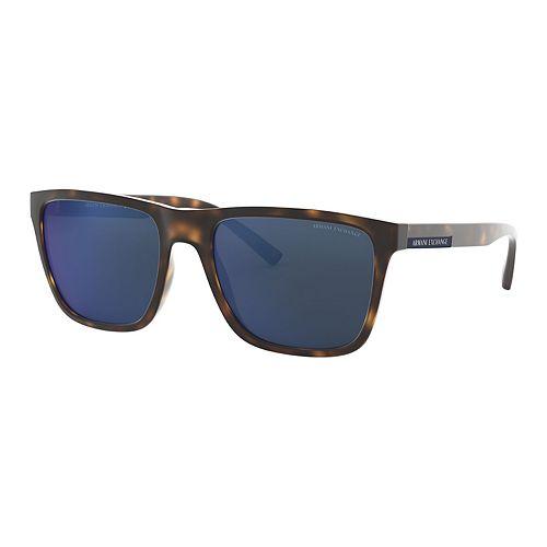 Men's Armani Exchange Urban Attitude AX4080S 57mm Square Sunglasses