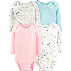 a7453bf57 Baby Girl Carter's 4-pack Floral Original Bodysuits