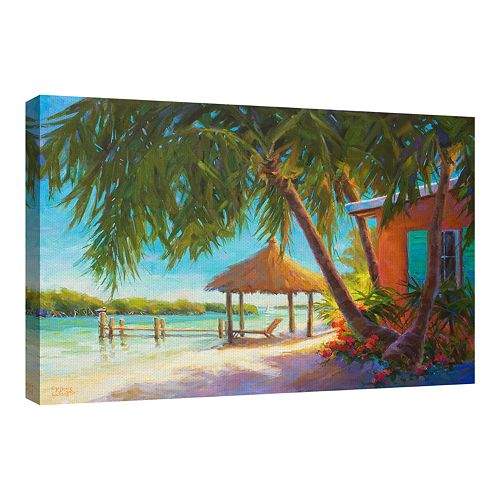 Fine Art Canvas A Day in Paradise by Kathleen Denis