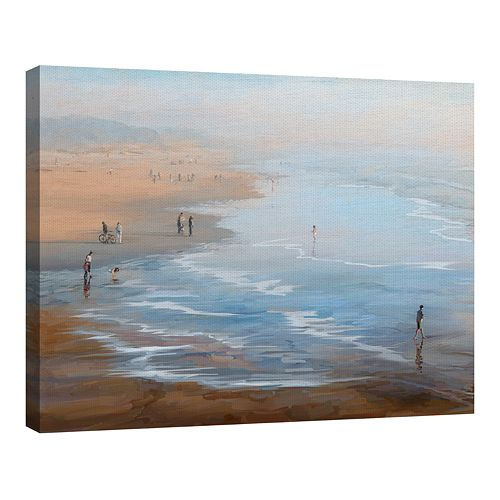 Fine Art Canvas Beach Weekend by Studio Arts
