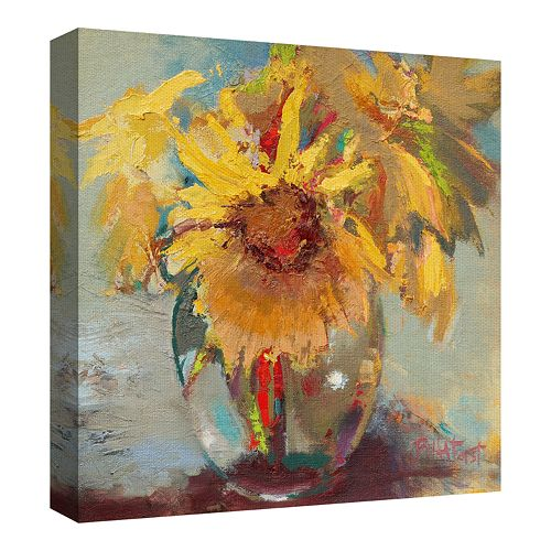 Water Globe Blossoms by Beth Forst Wrapped Canvas Wall Art