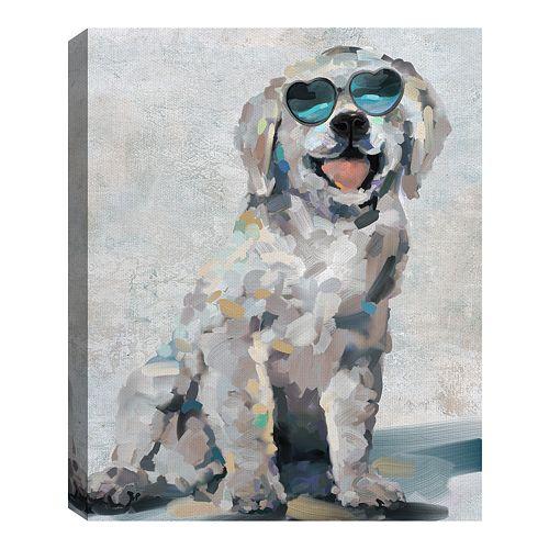 Fine Art Canvas Shady Pups III by artist Studio Arts