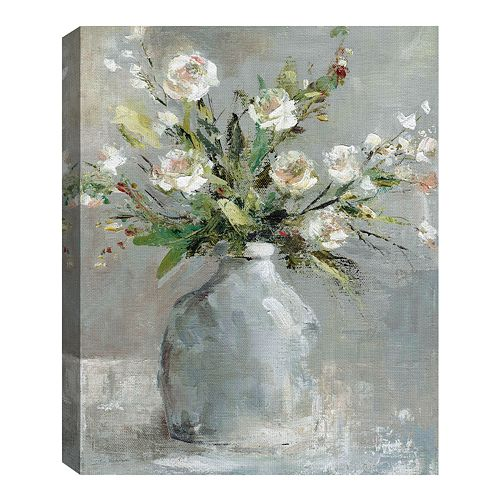 Fine Art Canvas Country Bouquet I by artist Carol Robinson