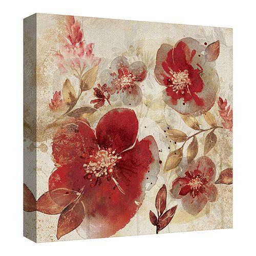 Fine Art Canvas Crimson Petals A Canvas Art