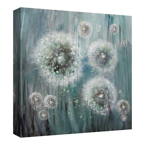 Fine Art Canvas Dandelion Dream by Studio Arts