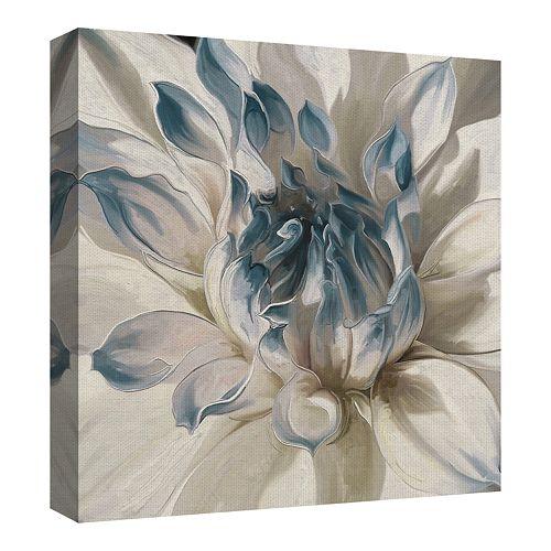Fine Art Canvas Daytime Dahlia Blue I by Studio Arts