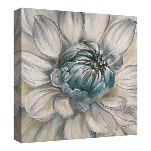 Fine Art Canvas Daytime Dahlia Blue II by Artist Studio Arts