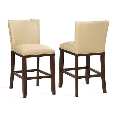 Steve Silver Tiffany Counter Stool 2-Piece Set