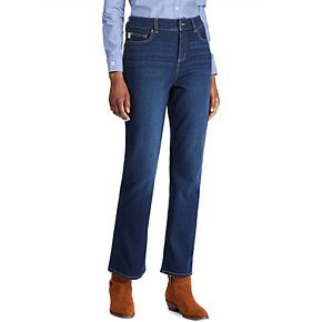 Women's Chaps Flared Crop Jeans