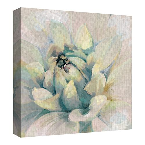 Fine Art Canvas Glorious Blooms I Bright Square by Studio Arts