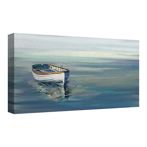 Fine Art Canvas In the Moment Blue by Studio Arts Wall Art