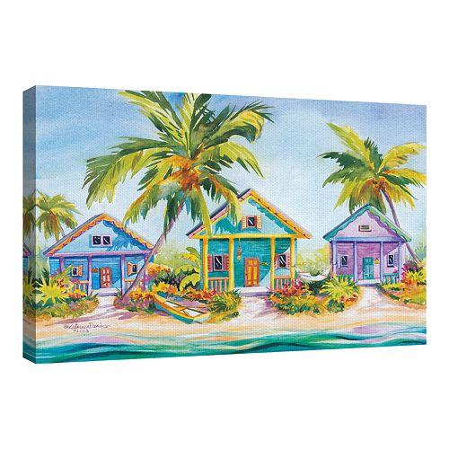 Fine Art Canvas Island Charm by Kathleen Denis Wall Art