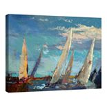 Fine Art Canvas Magnificence by Beth Forst Wall Art