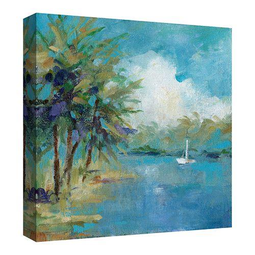Fine Art Canvas Peaceful Cove by Carol Robinson Wall Art