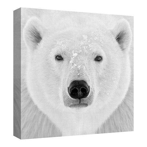 Fine Art Canvas Polar Bear by PhotoINC Studio Photo Wall Art