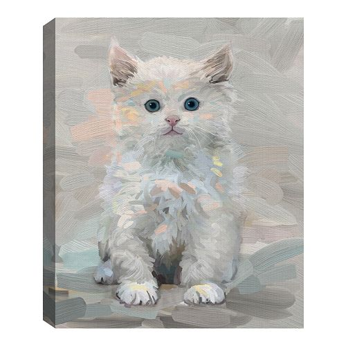 Fine Art Canvas Pretty Kitty III by Studio Arts Wall Art